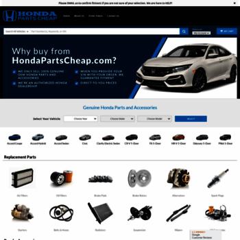 Honda Parts Cheap >> Hondapartscheap Com At Wi Honda Parts Cheap Honda Parts