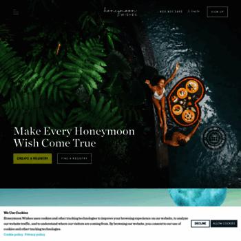 honeymoon wishes