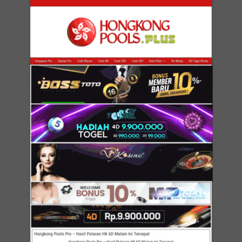 hongkongpools plus at WI  Welcome to hongkongpools | Togel HK | HK