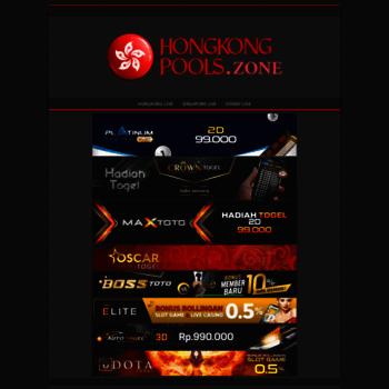 hongkongpools zone at WI  Hongkong Pools | Live Hongkong pools Asli