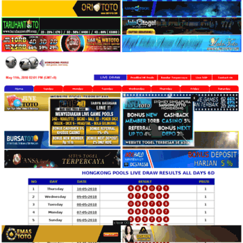 hongkongpoolsdraw com at WI  Hongkong Pools Live Draw, Live HK Pools