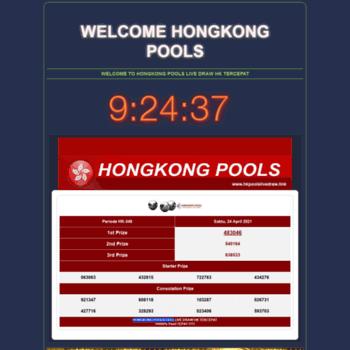 hongkongpoolslive news at WI  Hongkong Pools – Live Draw HK Pools 6d