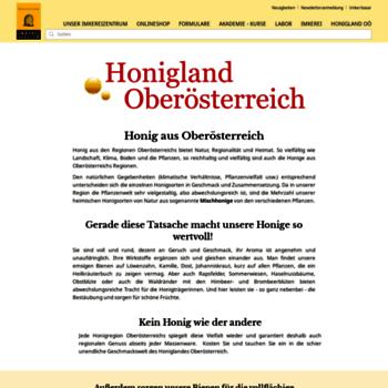 Honigland.at thumbnail