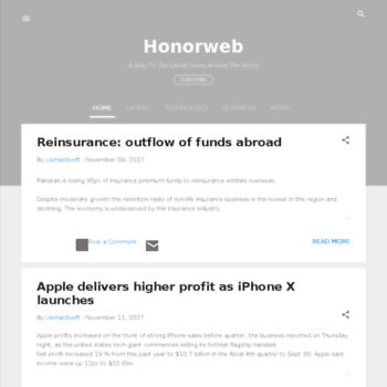 Honorweb.tk thumbnail