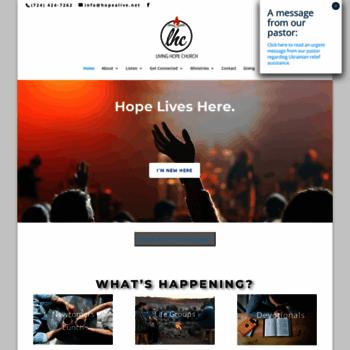 Hopealive.net thumbnail