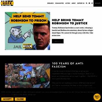 Hopenothate.org.uk thumbnail