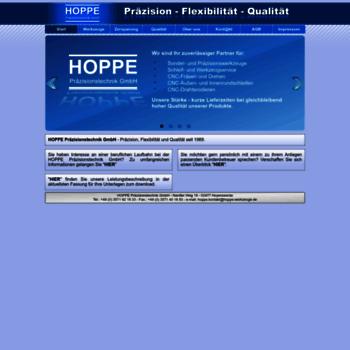 Hoppe-werkzeuge.de thumbnail