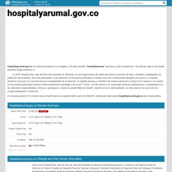 Hospitalyarumal.gov.co.ipaddress.com thumbnail