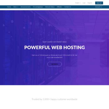 host-bot com at WI  HostBot llc | Teamspeak Mumble Ventrilo