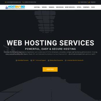 hostbuybd com at WI  Low Price 100% DMCA ignored Vps Server