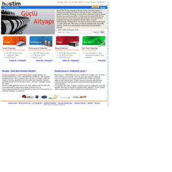Hostim.com.tr thumbnail