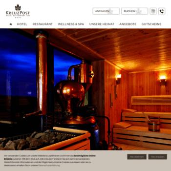 Hotel-kreuz-post.de thumbnail