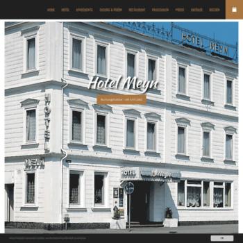 Hotel-meyn.de thumbnail