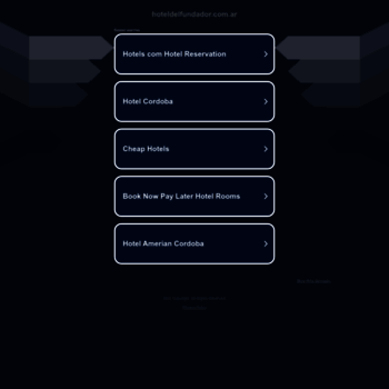 Hoteldelfundador.com.ar thumbnail