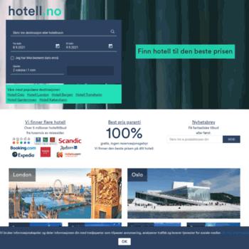 Hotell.no thumbnail