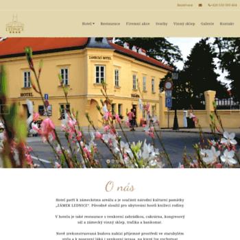 Hotellednice.cz thumbnail