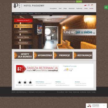 Hotelpiaskowy.pl thumbnail