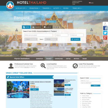 Hotelthailand.com thumbnail