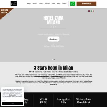 Hotelzaramilano.com thumbnail