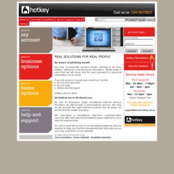hotkey net au at WI  Hotkey Internet Services - REAL