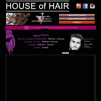 Houseofhair.ca thumbnail