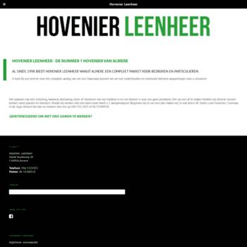 Hovenierleenheer.nl thumbnail