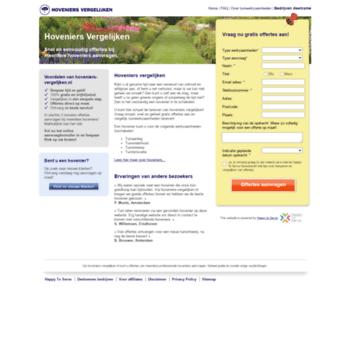 Hoveniers-vergelijken.nl thumbnail