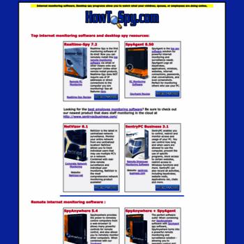 howtospy com at WI  Best Internet Monitoring Software Desktop Spy