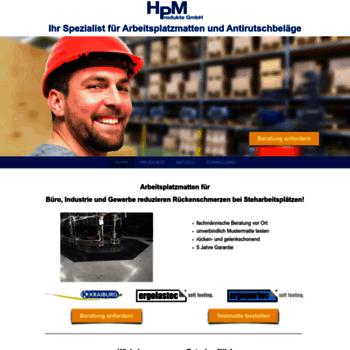 Hpm-produkte.ch thumbnail
