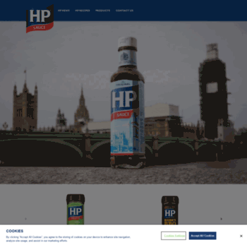 Hpsauce.co.uk thumbnail