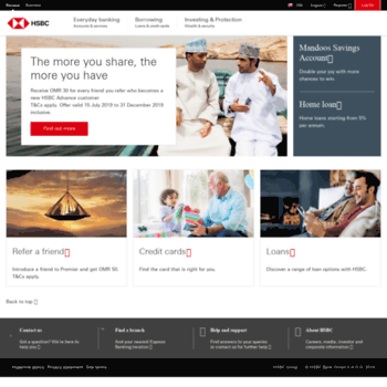 hsbc co om at WI  Personal Banking | HSBC Oman