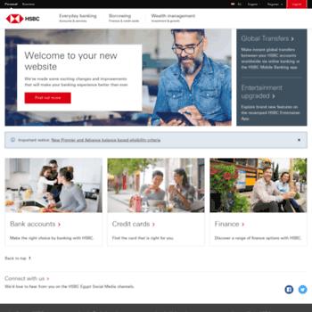 hsbc com eg at WI  Personal Banking | HSBC Egypt