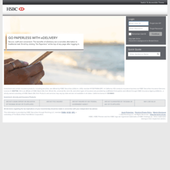 hsbcsecurities netxinvestor com at WI  HSBC Securities - login