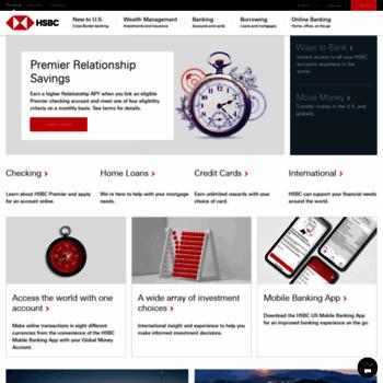hsbcusa com at WI  HSBC Personal Banking | HSBC