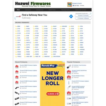 huaweifirmwares com at WI  Huawei Firmware Update Download