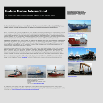Hudsonmarineinternational.com thumbnail