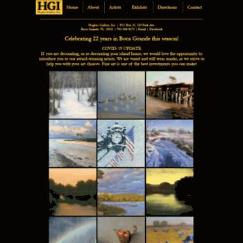 Hughesgallery.net thumbnail