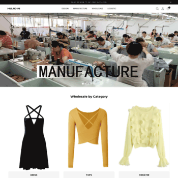 hujoin com at WI  Clothing Manufacturers China Small Quantity | Low