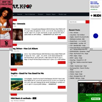 hulkpop com at WI  Download KPOP Music - MP3-320kbps, FLAC
