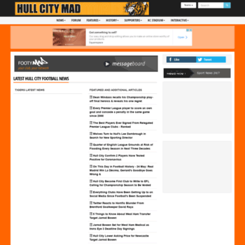 Hullcity-mad.co.uk thumbnail