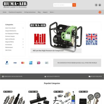 huma-air com at WI  Pressure Regulators For Airguns And PCP