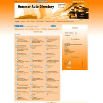 Hummerautodirectory.com thumbnail