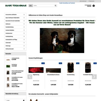 aa00c67387218c hunde-versandhaus.de at WI. Hunde Versandhaus