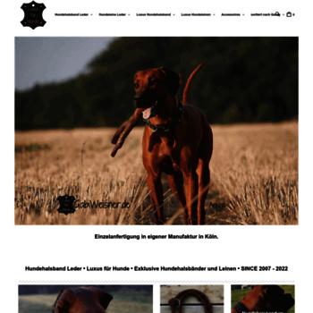 Hundehalsband-leder.de thumbnail