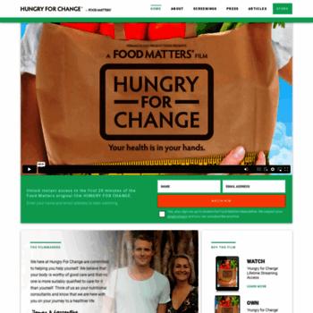 Hungryforchange.tv thumbnail