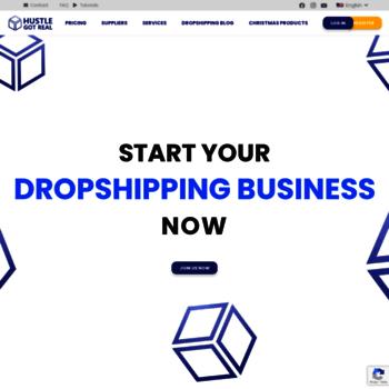 hustlegotreal com at WI  eBay drop shipping software