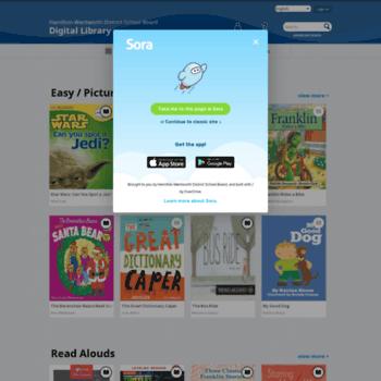 Hwdsbca.libraryreserve.com thumbnail