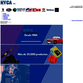 Hyca.com.mx thumbnail