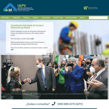 Iapv.gov.ar thumbnail