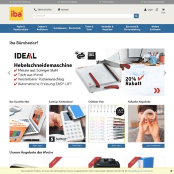 Iba Ch At Wi Iba Buromaterial Gunstiger Burobedarf Online Bestellen